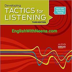 لیسنینگ متوسط - Tactics for listening  Intermediate
