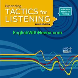 لیسنینگ پیشرفته - Tactics for listening  Advanced